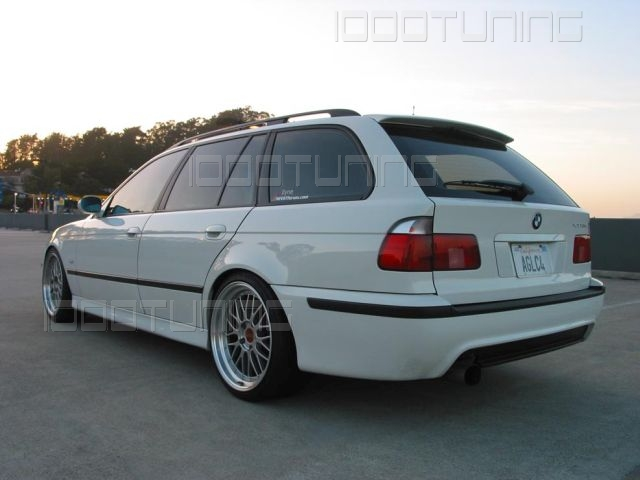 bmw 5 series e39 touring roof spoiler rear spoiler tuning. Black Bedroom Furniture Sets. Home Design Ideas