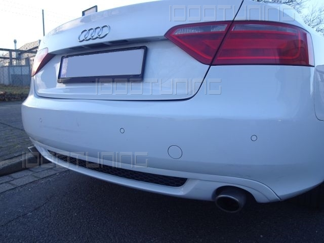 audi a5 8t cabriolet vfl diffuser rear s line look with. Black Bedroom Furniture Sets. Home Design Ideas
