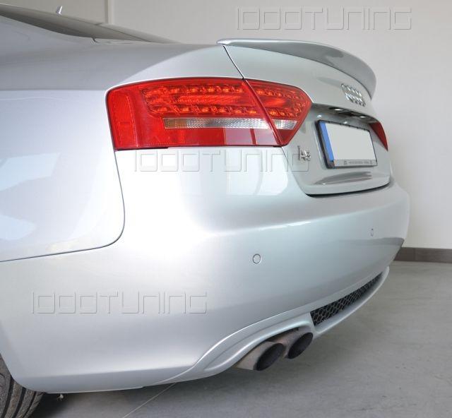 Audi A5 8T Coupe Rear Spoiler S-Line S5 New Spoiler Rear