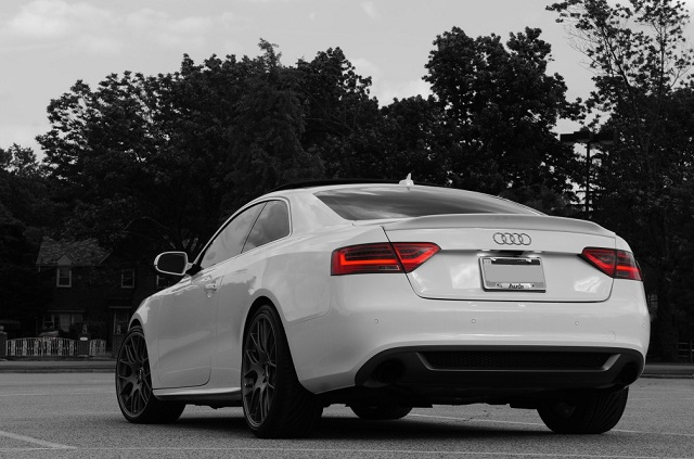 audi a5 coupe boot spoiler tuning s line s5 rs5 gb. Black Bedroom Furniture Sets. Home Design Ideas